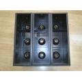 Candela de 3 canales x 9 lámparas PAR38