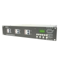 DIMMER PACK DMX DE 6 CANALES (6 x 10A) CON PANTALLA LCD